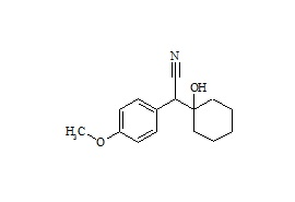 Venlafaxine Hydroxy Nitrile Impurity