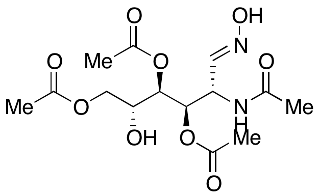 2-(Acetylamino)-2-deoxy-D-glucose 1-oxime 3,4,6-triacetate