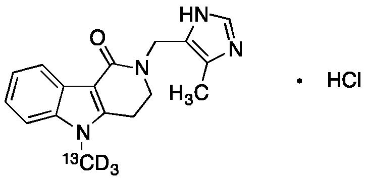 Alosetron-<sup>13</sup>CD<sub>3</sub> hydrochloride