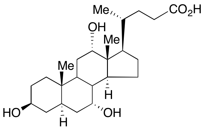 3β,5α-Cholic acid