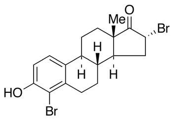 4,16a-Dibromoestrone