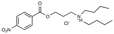 N,N-Di-n-butyl-N-3-[4-nitrobenzoyloxy)propyl]ammonium Chloride
