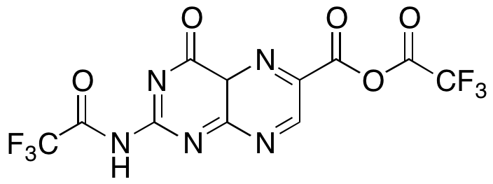 3,4-Dihydro-4-oxo-2-[(2,2,2-trifluoroacetyl)amino]-6-pteridinecarboxylic Acid Anhydride 2,2,2-Trifluoroacetic Acid