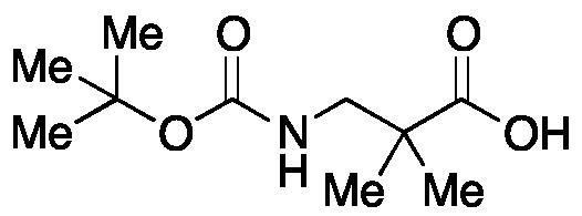 2,2-Dimethyl- β-alanine-N-(tert-butoxycarbonyl)