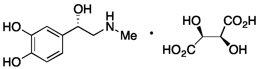 (+)-Epinephrine (-)-Bitartrate
