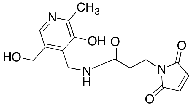 3-(N-Maleimido)propionate Pyridoxamine