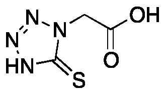 5-Mercapto-1-tetrazolylacetic Acid