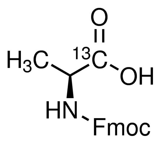 Fmoc-L-alanine-1-<sup>13</sup>C