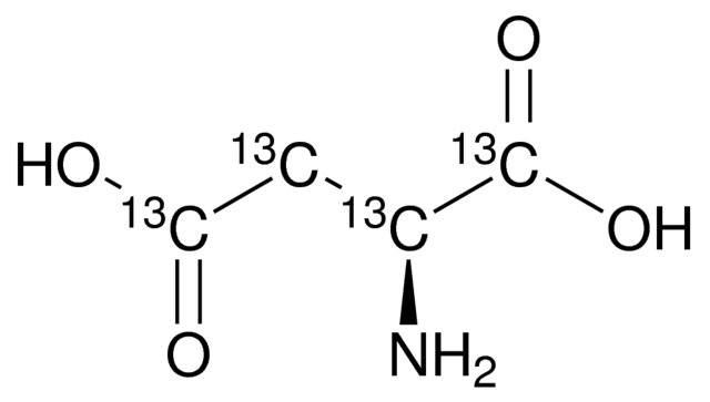 L-Aspartic acid-<sup>13</sup>C<sub>4</sub>