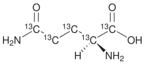L-Glutamine-UL-<sup>13</sup>C<sub>5</sub>