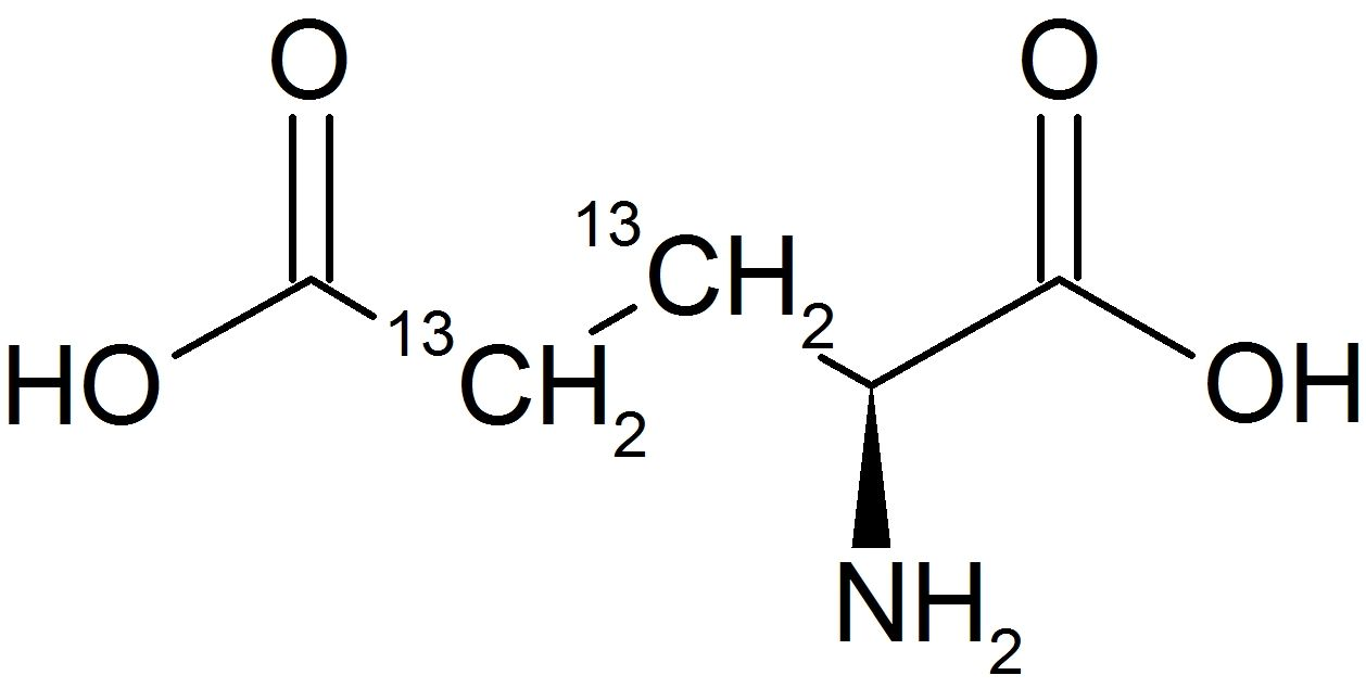 L-Glutamic Acid-3,4-13C<sub>2</sub>