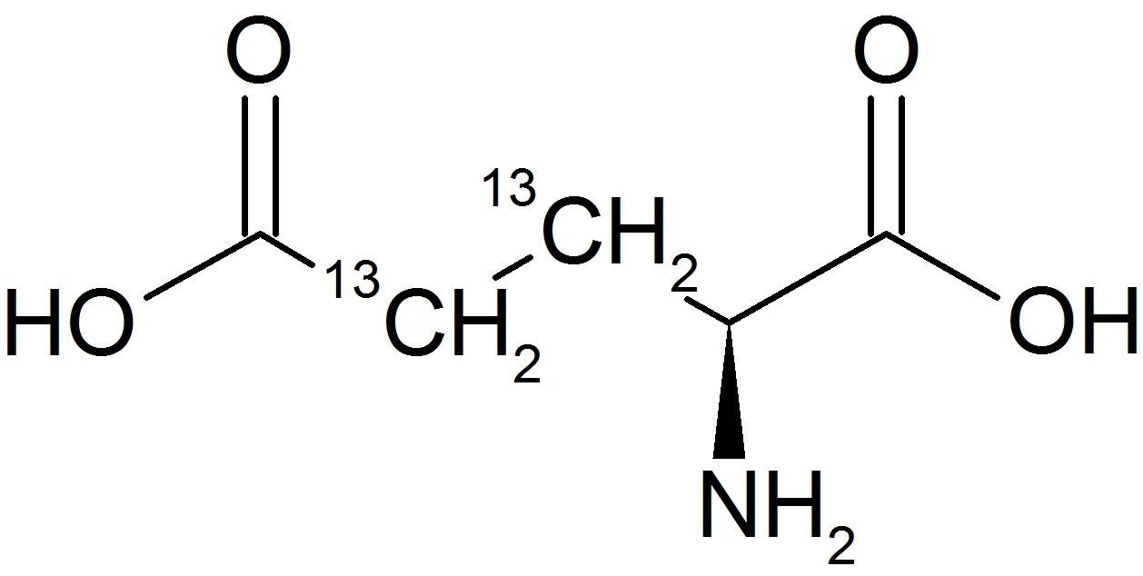 L-Glutamic Acid-3,4-<sup>13</sup>C<sub>2</sub>