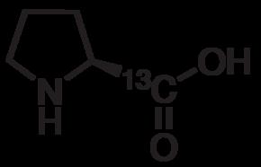 L-Proline-1-<sup>13</sup>C