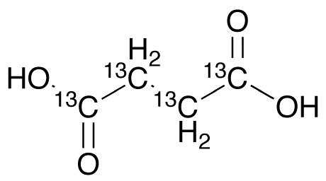 Succinic Acid-<sup>13</sup>C<sub>4</sub>