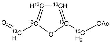 5-Acetoxymethyl-2-furaldehyde-<sup>13</sup>C<sub>6</sub>