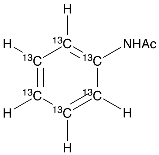 Acetylaniline-<sup>13</sup>C<sub>6</sub>