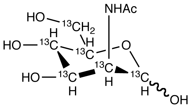 N-Acetyl-D-mannosamine-<sup>13</sup>C<sub>6</sub>