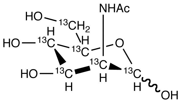 N-Acetyl-D-mannosamine-<sup>13</sup>C<sub>6</sub>
