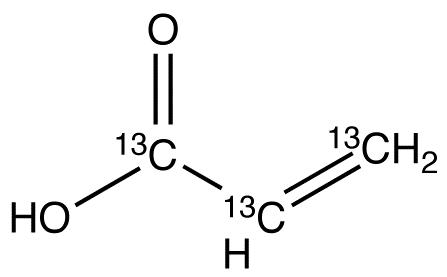 Acrylic Acid-<sup>13</sup>C<sub>3</sub>