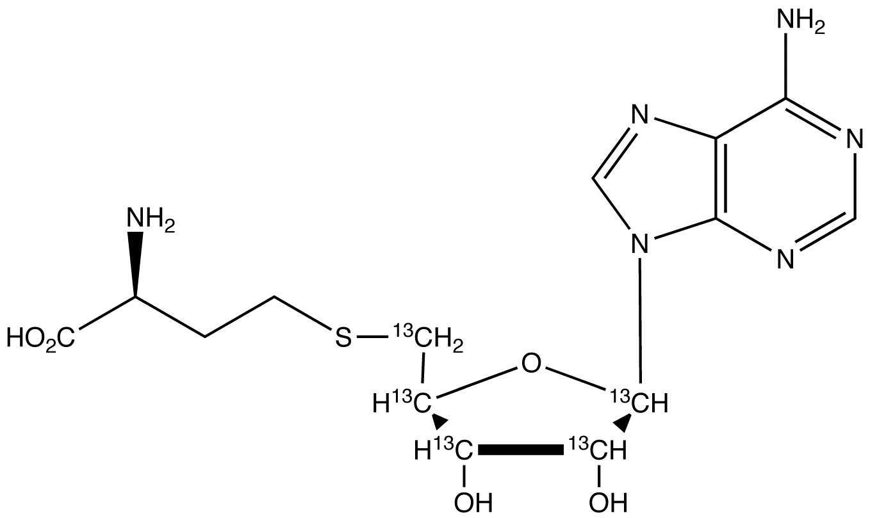 S-(5'-Adenosyl)-L-homocysteine-<sup>13</sup>C<sub>5</sub>