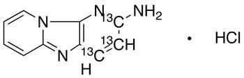 2-Aminodipyrido[1,2-a:3',2-D]imidazole-<sup>13</sup>C<sub>3</sub> HCl