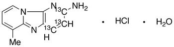 2-Amino-6-methyldipyrido[1,2-a:3',2'-d]imidazole-<sup>13</sup>C<sub>3</sub> hydrochloride hydrate