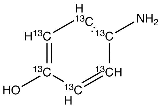 4-Aminophenol-<sup>13</sup>C<sub>6</sub>