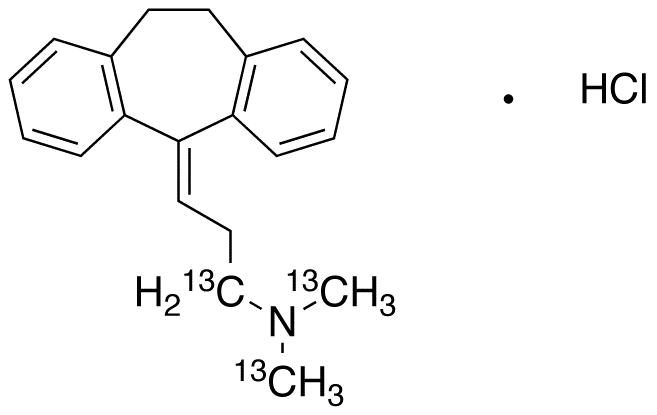 Amitriptyline-<sup>13</sup>C<sub>3</sub> HCl