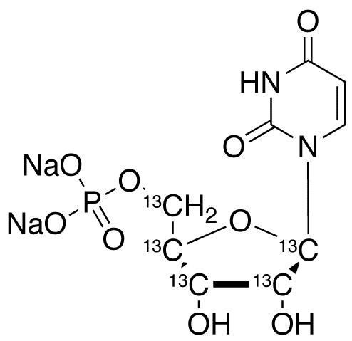Uridine-<sup>13</sup>C<sub>5</sub> 5'-monophosphate disodium salt