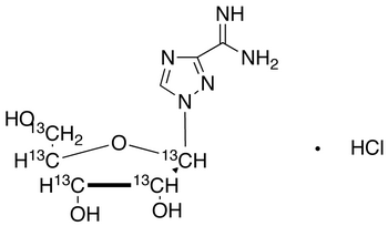 Viramidine-<sup>13</sup>C<sub>5</sub> HCl