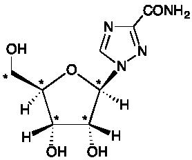 Ribavirin-<sup>13</sup>C<sub>5</sub>