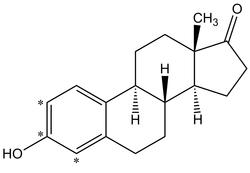 Estrone-2,3,4-<sup>13</sup>C<sub>3</sub> (100 µg/mL in Methanol)