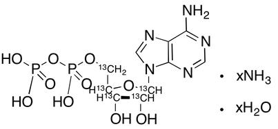 Adenosine 5&#146;-diphosphate-<sup>13</sup>C<sub>5</sub> ammonium salt hydrate