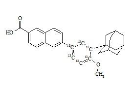 Adapalene-<sup>13</sup>C<sub>6</sub>