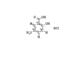 Mesalamine-13C6 HCl
