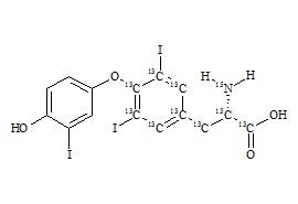Liothyronine-15N-13C9