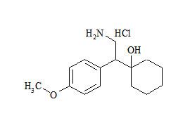 Venlafaxine Impurity C HCl (N,N-Didesmethyl Venlafaxine HCl)