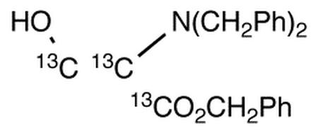 2-N,N-Dibenzyl Serine Benzyl Ester-<sup>13</sup>C<sub>3</sub>