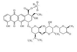Aclarubicin-<sup>13</sup>C,d<sub>3</sub>
