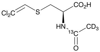 N-Acetyl-S-(2,2-dichloroethenyl)-L-cysteine-<sup>13</sup>C,d<sub>3</sub>