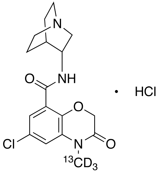Azasetron-<sup>13</sup>C,d<sub>3</sub> HCl