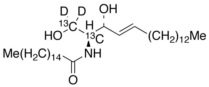 C16 Ceramide-<sup>13</sup>C<sub>2</sub>,d<sub>2</sub>