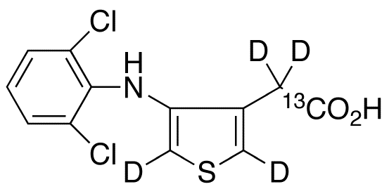 Eltenac-<sup>13</sup>C,d<sub>4</sub>