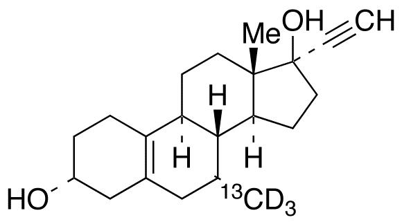 3α-Hydroxy Tibolone-<sup>13</sup>C,d<sub>3</sub>