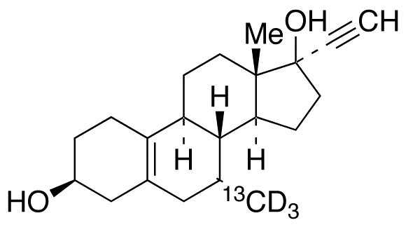 3&#946;-Hydroxy Tibolone-<sup>13</sup>C,d<sub>3</sub>