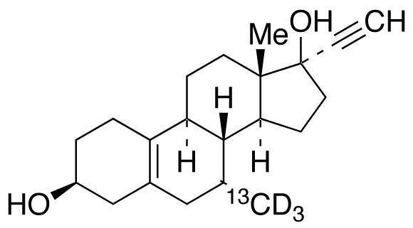 3β-Hydroxy Tibolone-<sup>13</sup>C,d<sub>3</sub>