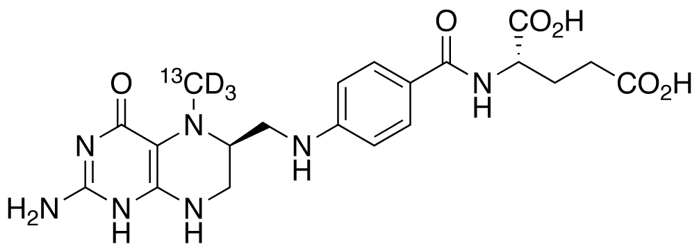 Levomefolic acid-<sup>13</sup>C,d<sub>3</sub>