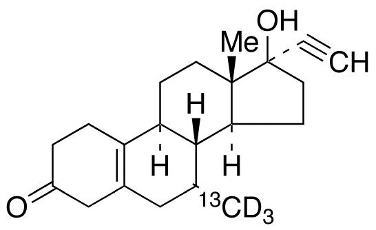 Tibolone-<sup>13</sup>C,d<sub>3</sub>