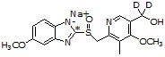5'-Hydroxyomep<sup>,d2 sodiu</sup>C,d<sub>2</sub> sodium