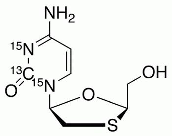 Lamivudine-<sup>15</sup>N<sub>2</sub>,<sup>13</sup>C